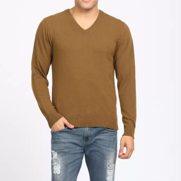 Izod Other - Izod unisex sweater Brown v-neck
